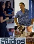 Fundraising talk with Atlantic Ocean Rower Lloyd Figgins. Meadows Farm Studio.