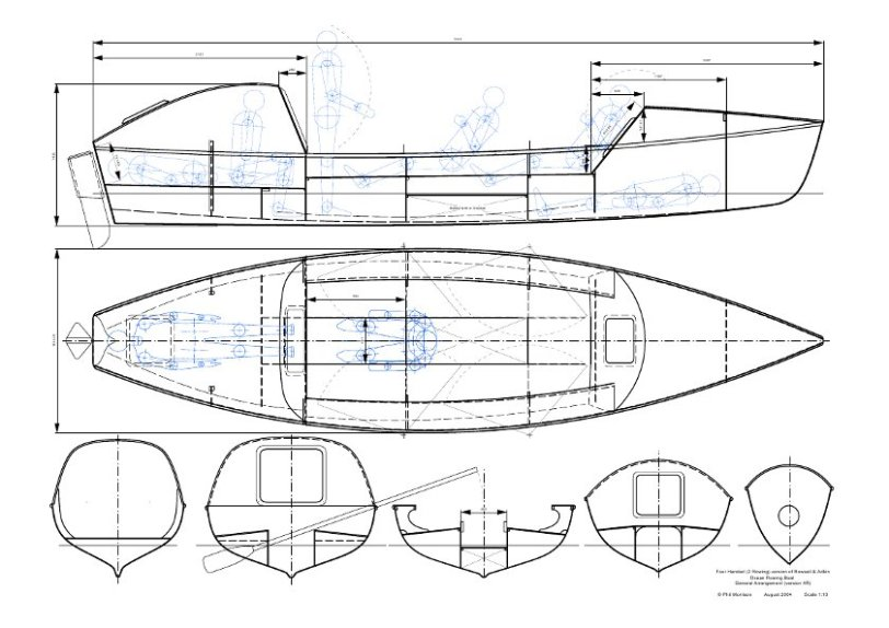 Promoting STEM education through ocean rowing. The design of an ocean rowing boat.