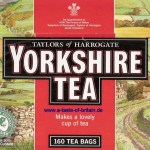 Kit Sponsor: Yorkshire Tea provide the team with their favourite brew to keep them feeling happy.
