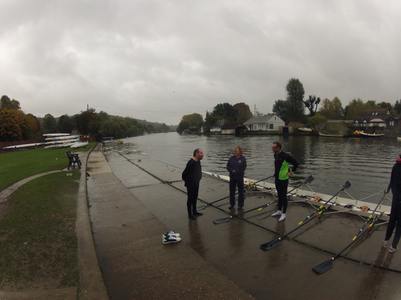 Learn to row course at the Henley Rowing Club.