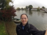 Rainy start to the day, Henley Rowing Club.